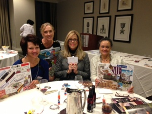 Several Beacon employees enjoyed an evening of goal setting by creating a Vision Board.